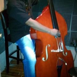 Upright in the Studio
